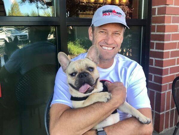 Dr. Shawn and french bulldog